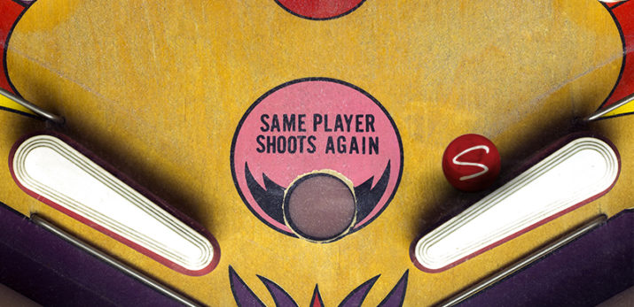 When it comes to marketing, you should try playing pinball