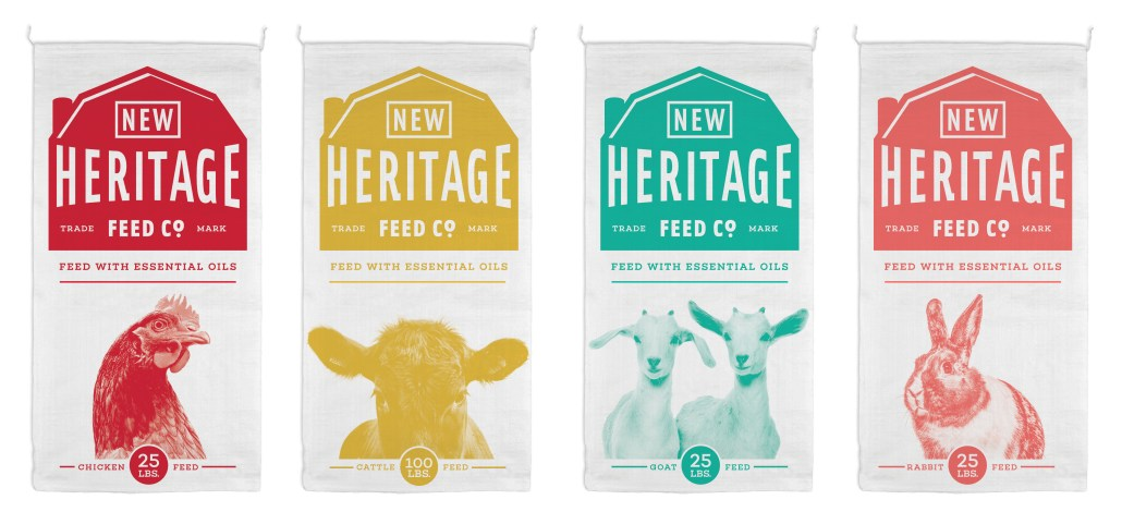 New Heritage Feed Co. Packaging
