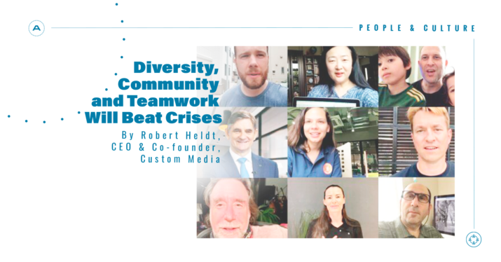 Diversity, Community and Teamwork Will Beat Crises