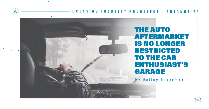 The auto aftermarket is no longer restricted to the car enthusiast´s  garage